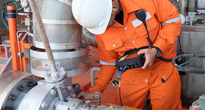 Image – 50 – Plant Worker Orange Suit