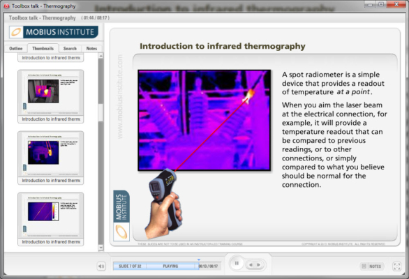 Spot Radiometer for Infrared Thermography - iLearnReliability